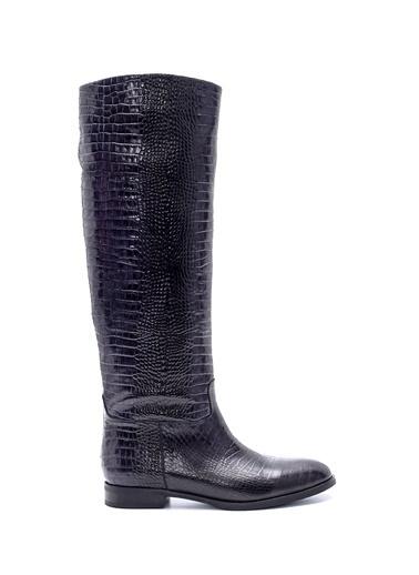 Derimod Kadın Çizme (16250) Casual Siyah